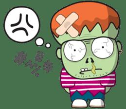 Franky The Zombie sticker #719036