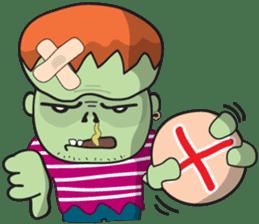 Franky The Zombie sticker #719038