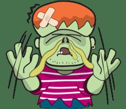 Franky The Zombie sticker #719039