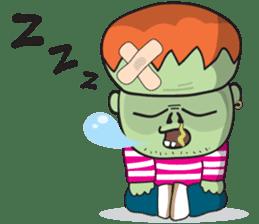 Franky The Zombie sticker #719041