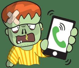Franky The Zombie sticker #719042