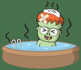 Franky The Zombie sticker #719058