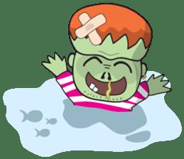 Franky The Zombie sticker #719064