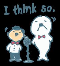 My Friend Sunameri -English ver. sticker #719296