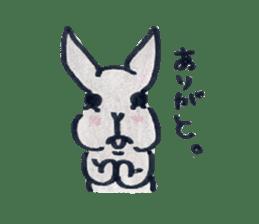 MY cute Rabbit sticker #720071