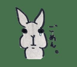 MY cute Rabbit sticker #720072