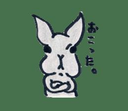 MY cute Rabbit sticker #720075