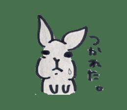 MY cute Rabbit sticker #720078