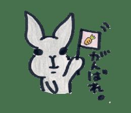 MY cute Rabbit sticker #720083
