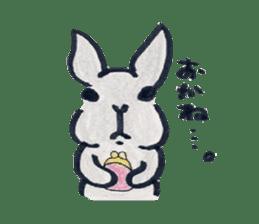 MY cute Rabbit sticker #720085