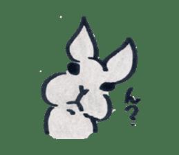 MY cute Rabbit sticker #720086