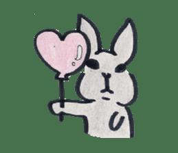 MY cute Rabbit sticker #720087