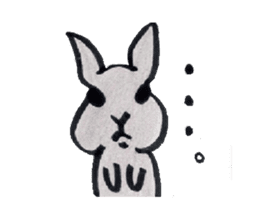 MY cute Rabbit sticker #720090