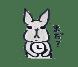 MY cute Rabbit sticker #720092