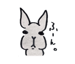 MY cute Rabbit sticker #720094