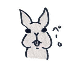 MY cute Rabbit sticker #720095