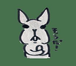 MY cute Rabbit sticker #720097