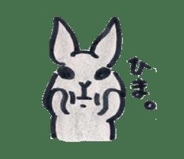 MY cute Rabbit sticker #720098