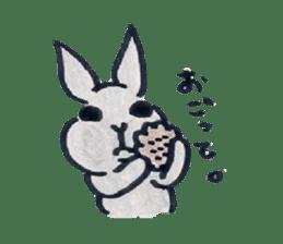 MY cute Rabbit sticker #720100