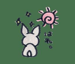 MY cute Rabbit sticker #720102