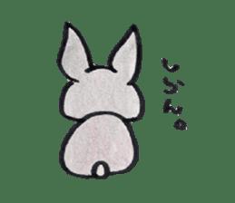 MY cute Rabbit sticker #720104