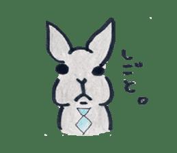 MY cute Rabbit sticker #720105