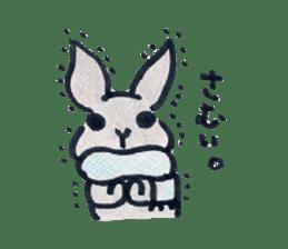 MY cute Rabbit sticker #720110