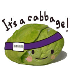 It's a cabbage!  (English ver.)