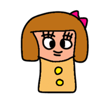 KO KE SHI sticker #720481