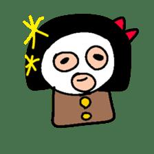 KO KE SHI sticker #720506