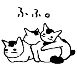 Ugly & Fat cats sticker #721753