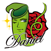 สติ๊กเกอร์ไลน์ goodlooking insectivorous plant Daniel