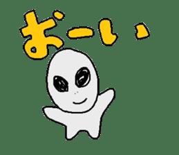 Alien's Sticker sticker #722351