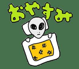 Alien's Sticker sticker #722361