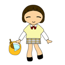 High school girls of japan sticker #722393
