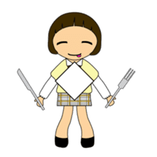 High school girls of japan sticker #722403