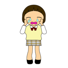 High school girls of japan sticker #722405