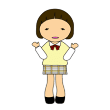 High school girls of japan sticker #722406
