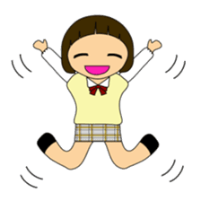 High school girls of japan sticker #722417