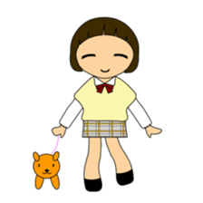High school girls of japan sticker #722421