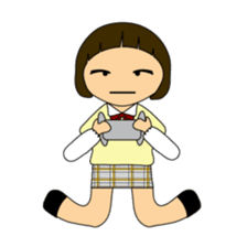 High school girls of japan sticker #722428