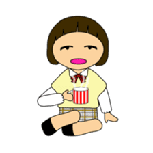High school girls of japan sticker #722430