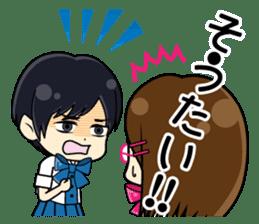 Daily conversation of the  Fukuoka-Girl sticker #722588