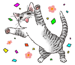 CATS for <Congratulations & Thank you> sticker #722804