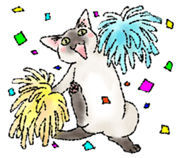 CATS for <Congratulations & Thank you> sticker #722807