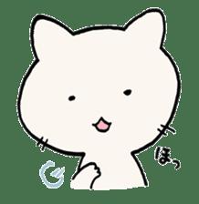 India ink cat sticker #723402