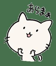 India ink cat sticker #723406