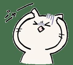 India ink cat sticker #723410