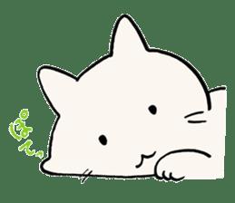 India ink cat sticker #723411