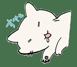 India ink cat sticker #723412